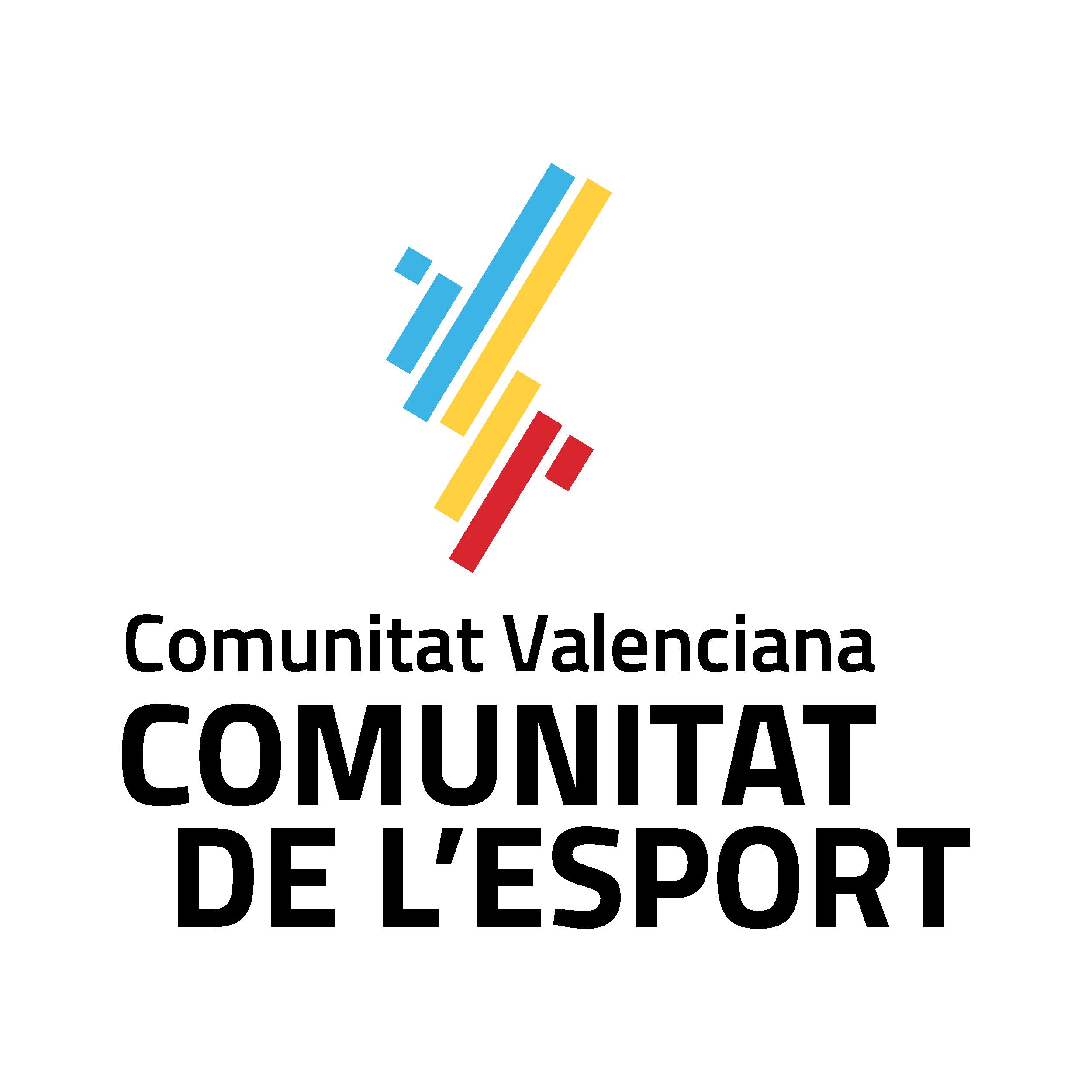 Logo Comunitat de l_Esport_Color V